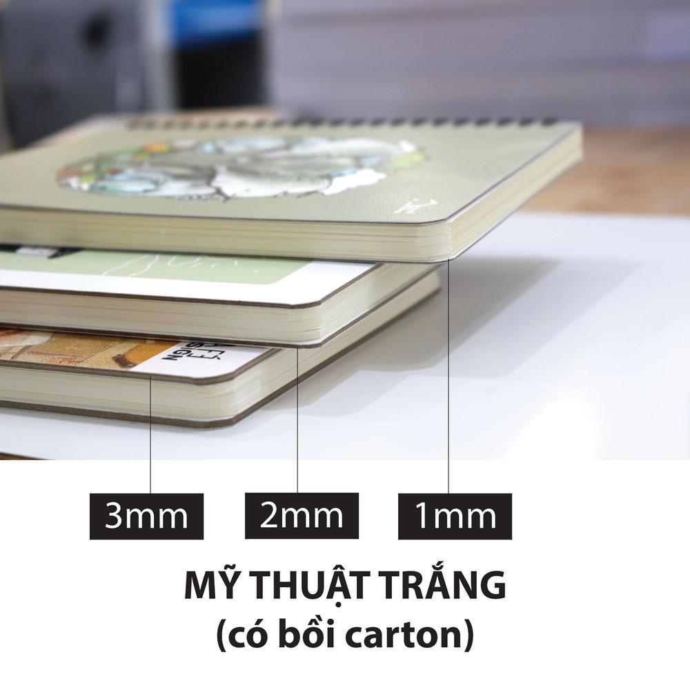 1mm - Mỹ thuật bồi carton 1 lớp